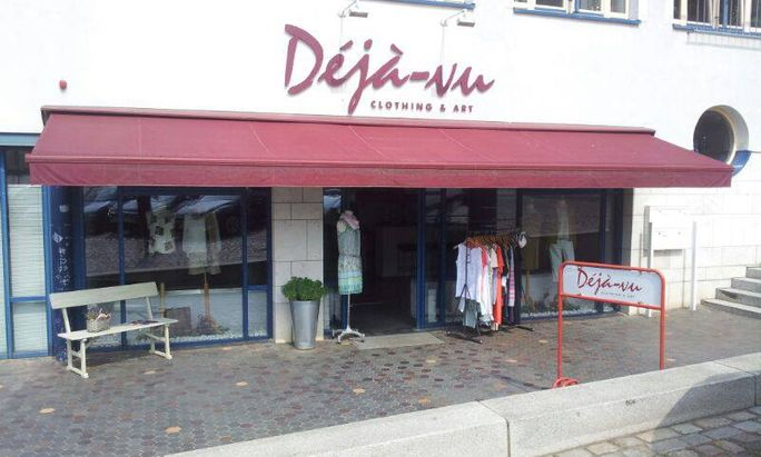 Déjà-vu Clothing & Art Logo Boutique